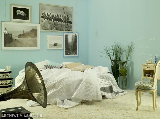Niebieska sypialnia - galeria zdjęć