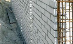 Ściany fundamentowe z bloczków silikatowych
