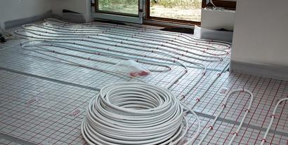 Montaż instalacji ogrzewania podłogowego