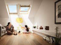 Okno dachowe obrotowe - Velux