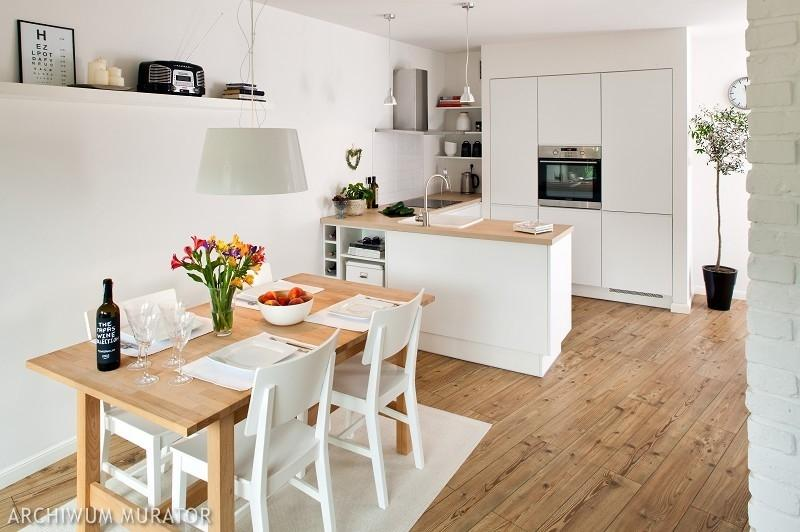 Galeria zdjęć  Kuchnia otwarta na salon Plusy i minusy   -> Inspiracje Kuchnia Z Salonem