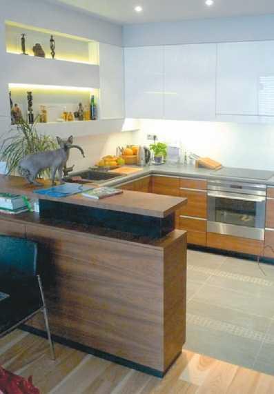 Galeria artykułu Kuchnia otwarta na salon Plusy i  , zdjęcie nr 2  Murator