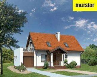 Projekt domu Mały - wariant II Murator D06a