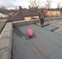 Dach płaski na starym stropie