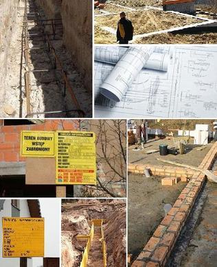 Rozpoczęcie budowy - pierwsze prace budowlane