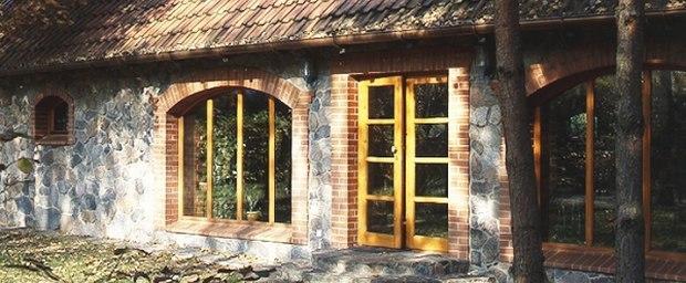 Okna drewniane - natura i nowoczesność -