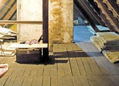 Remont starego strychu. Naprawa stropu na poddaszu nieużytkowym