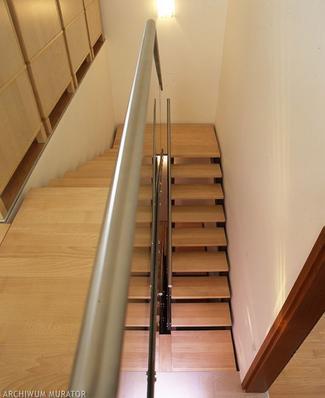 Rodzaje schodów: schody dwubiegowe