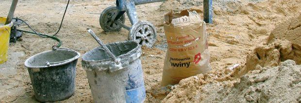 Przepis na beton - składniki betonu