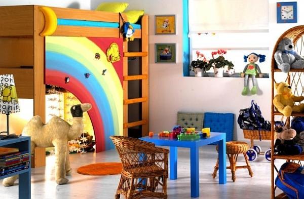 Inspirujące pokoje dziecięce. Urządzamy tęczowy pokój dla dziewczynki