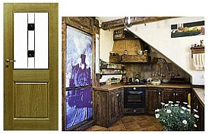 Takie drzwi jakie wnętrze
