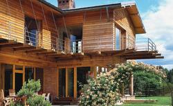 Piękne domy: dom przypominający statek. Zdjęcia