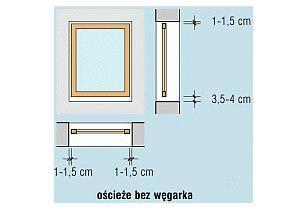 Wymiary okna a wymiary ościeża